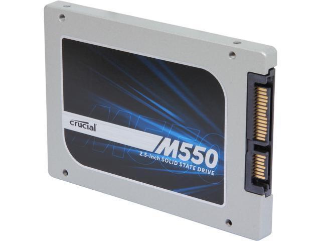 Crucial M550 CT1024M550SSD1 2.5 inch 1TB SATA 6Gb/s MLC Internal Solid State Drive (SSD)