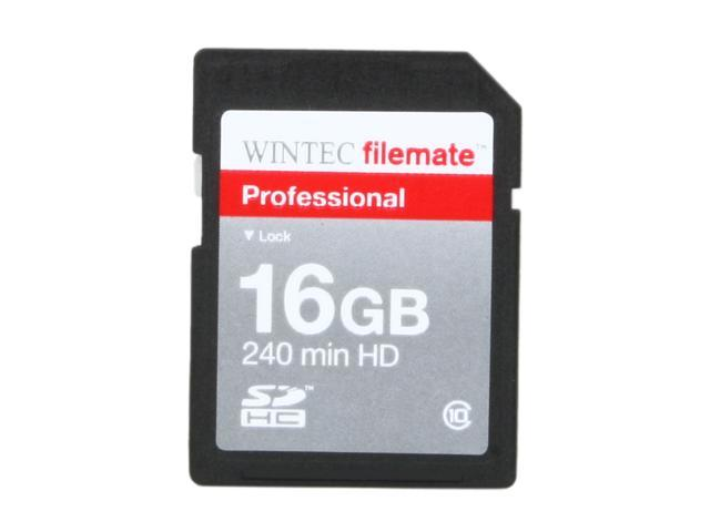 WINTEC FileMate 16GB Professional Class 10 Secure Digital SDHC Card