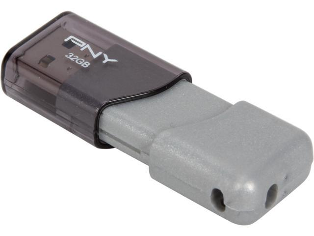 PNY 32GB Turbo Plus Attache USB 3.0 Flash Drive Model P-FD32GTBOP-GE