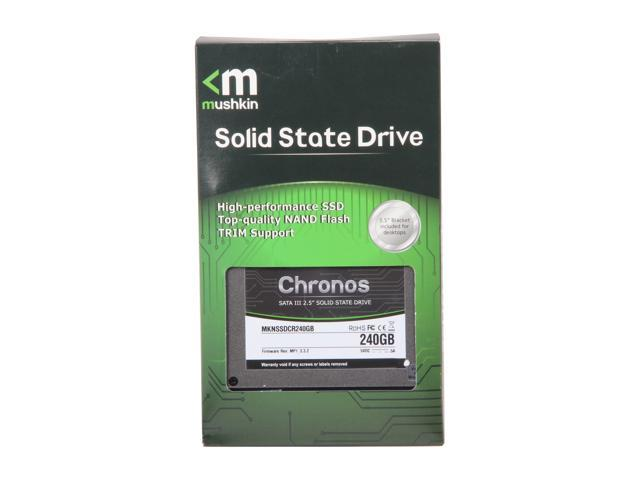 Mushkin Enhanced Chronos MKNSSDCR240GB 2.5 inch 240GB SATA III MLC Internal Solid State Drive (SSD)