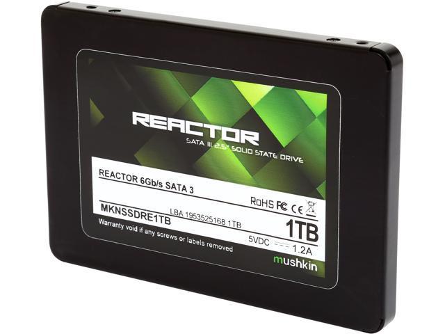 Mushkin Enhanced Reactor MKNSSDRE1TB 2.5 inch 1TB SATA III Internal Solid State Drive (SSD)