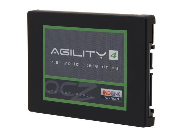 OCZ Agility 4 AGT4-25SAT3-512G 2.5 Inch 512GB SATA III MLC Internal Solid State Drive (SSD)