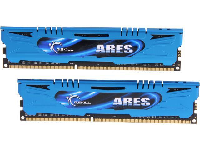 G.SKILL Ares Series 16GB (2 x 8GB) 240-Pin DDR3 SDRAM DDR3 2133 (PC3 17000) Desktop Memory Model F3-2133C10D-16GAB