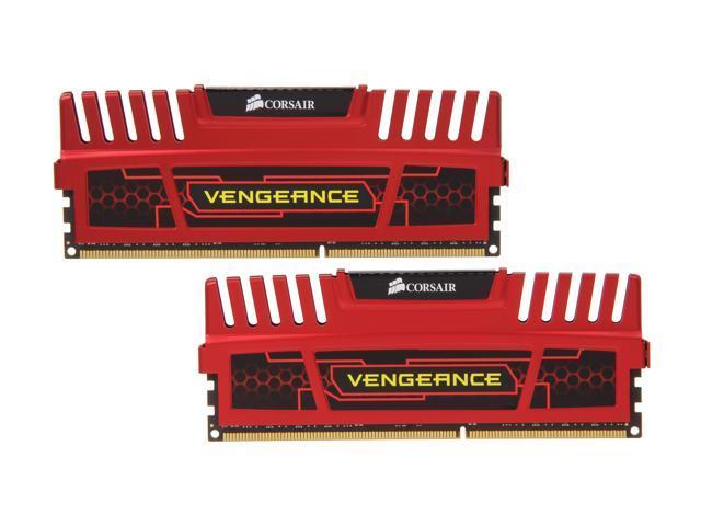 CORSAIR Vengeance 16GB (2 x 8GB) 240-Pin DDR3 SDRAM DDR3 1600 Desktop Memory Model CMZ16GX3M2A1600C10R