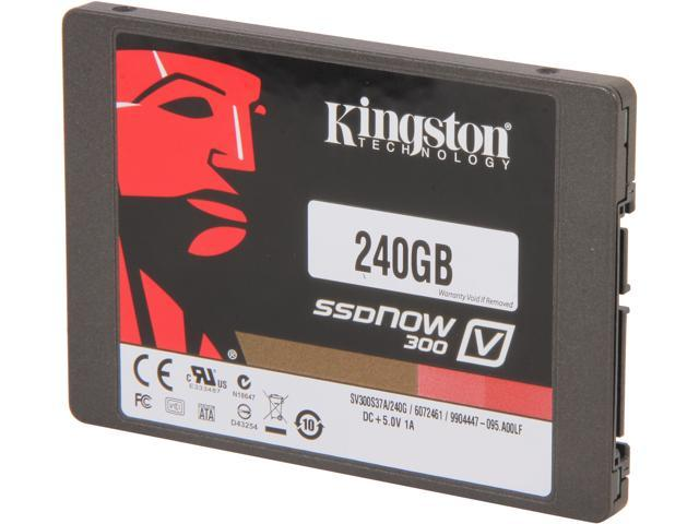 Kingston SSDNow V300 Series SV300S37A/240G 2.5 inch 240GB SATA III Internal Solid State Drive (SSD)