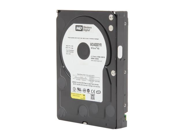 RE-CERTIFIED: Western Digital RE2 WD4000YR 400GB 7200 RPM 16MB Cache SATA 1.5Gb/s 3.5 Inch Hard Drive -Bare Drive
