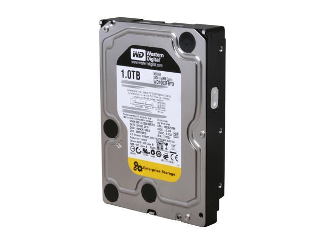 Western Digital WD RE4 WD1003FBYX 1TB 7200 RPM 64MB Cache SATA 3.0Gb/s 3.5 inch Internal Enterprise Hard Drive
