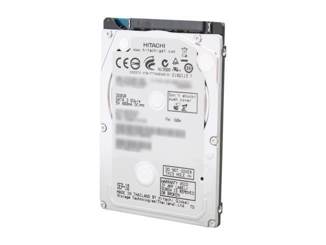 HITACHI 0A78743 320GB 7200 RPM 16MB Cache 2.5 Inch SATA 3.0Gb/s Internal Notebook Hard Drive -Bare Drive