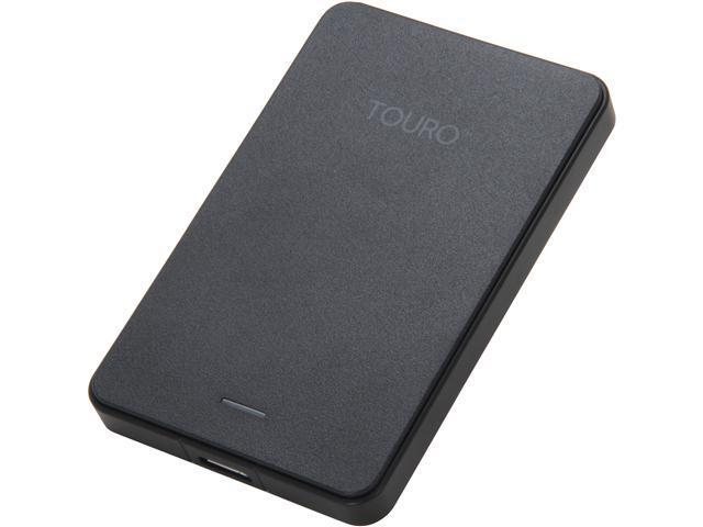 HGST Touro Mobile 500GB USB 3.0 Black External Hard Drive 0S03452