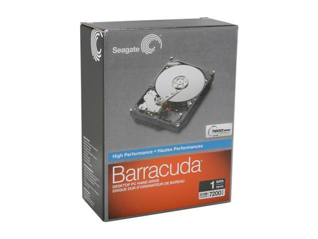 Seagate ST310005N1A1AS-RK 1TB 7200 RPM 32MB Cache SATA 3.0Gb/s 3.5 inch Internal Hard Drive Retail kit