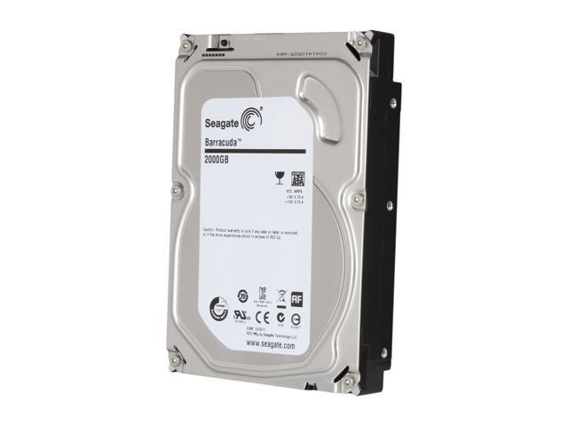 Seagate Barracuda ST2000DM001 2TB 7200 RPM 64MB Cache SATA 6.0Gb/s 3.5 inch Internal Hard Drive Bare Drive