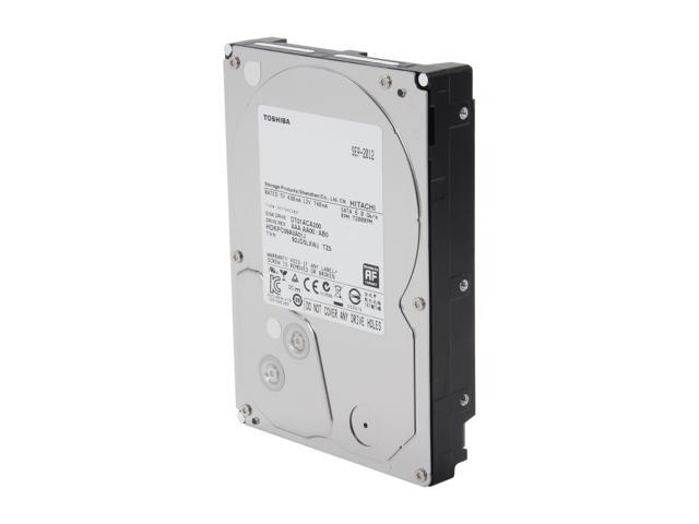 TOSHIBA DT01ACA200 2TB 7200 RPM 64MB Cache SATA 6.0Gb/s 3.5 inch Internal Hard Drive Bare Drive