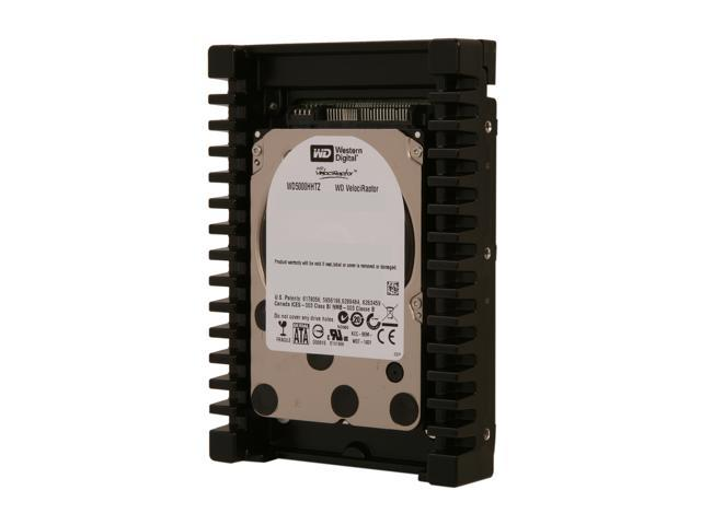 Western Digital WD VelociRaptor WD5000HHTZ 500GB 10000 RPM 64MB Cache SATA 6.0Gb/s 3.5 inch Internal Hard Drive - OEM