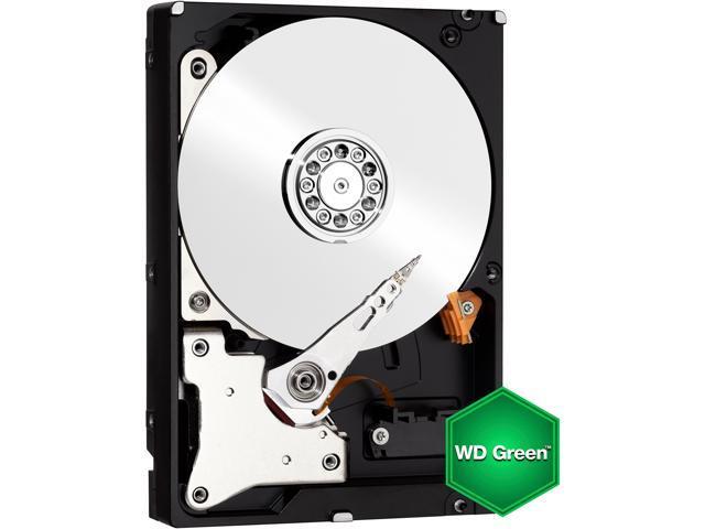 Western Digital WD Green WD20EZRX 2TB IntelliPower 64MB Cache SATA 6.0Gb/s 3.5 inch Internal Hard Drive Bare Drive