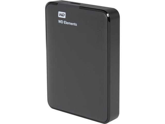 WD 2TB WD Elements Portable USB 3.0 Hard Drive Storage (WDBU6Y0020BBK-NESN)