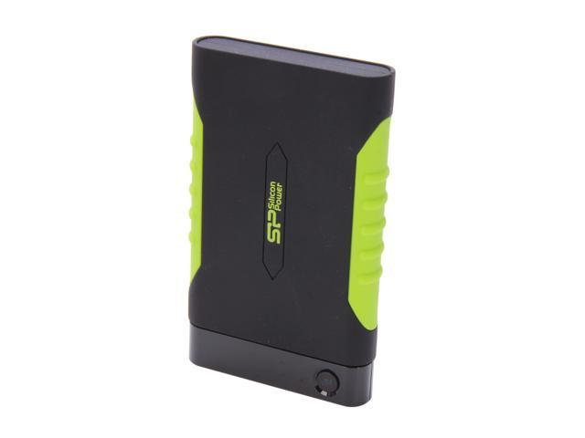 Silicon Power Rugged Armor A15 500GB USB 3.0 External Hard Drive (Meets Military Drop-test Standards) SP500GBPHDA15S3K