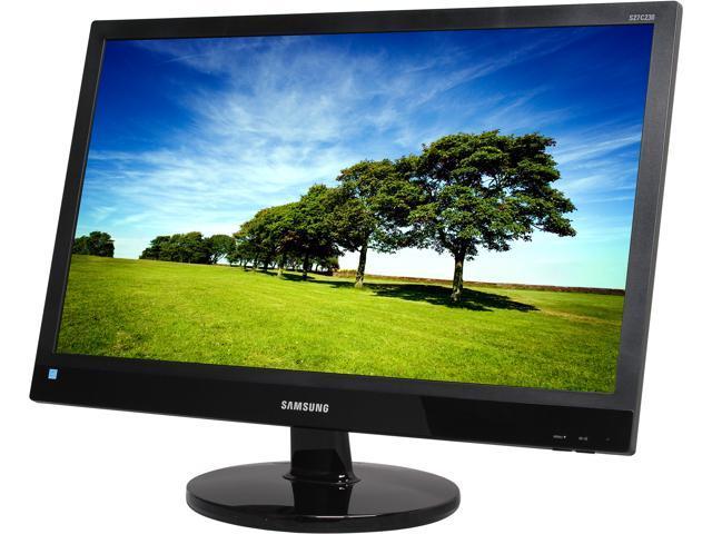 SAMSUNG S27C230B Glossy Black 27 inch 5ms (GTG) Widescreen LED Backlight LCD Monitor 300 cd/m2 Mega 8 DCR (1000:1)