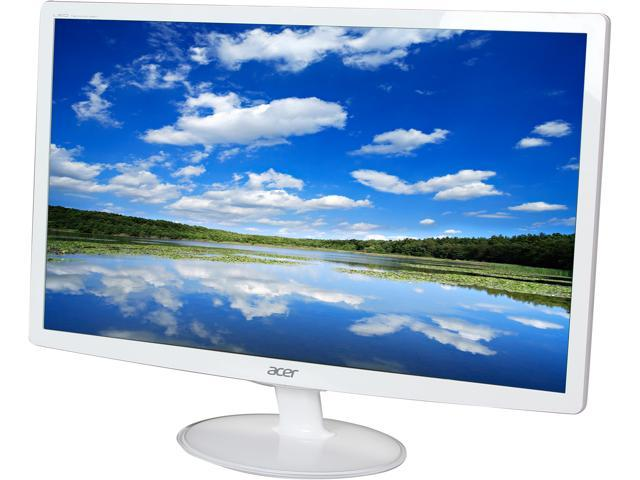Acer S2 S242HLBwid White 24 inch 5ms HDMI Widescreen LED Backlight Monitor 250 cd/m2 1000:1