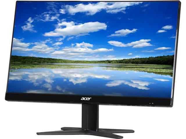 Acer G7 G227HQLbi Black 21.5 inch 6ms (GTG) HDMI Widescreen LED Backlight Tilt Adjustable LCD Monitor IPS 250 cd/m2 DCR 100,000,000:1 (1,000:1)