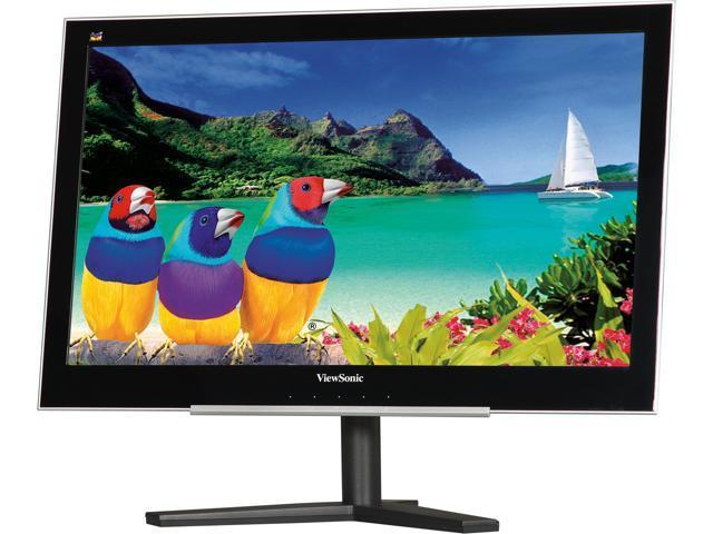 ViewSonic VX2260s-LED Black 22 inch 8ms (GTG) Widescreen LED Backlight LED Monitor 250 cd/m2 DC 40,000,000:1 (1000:1)