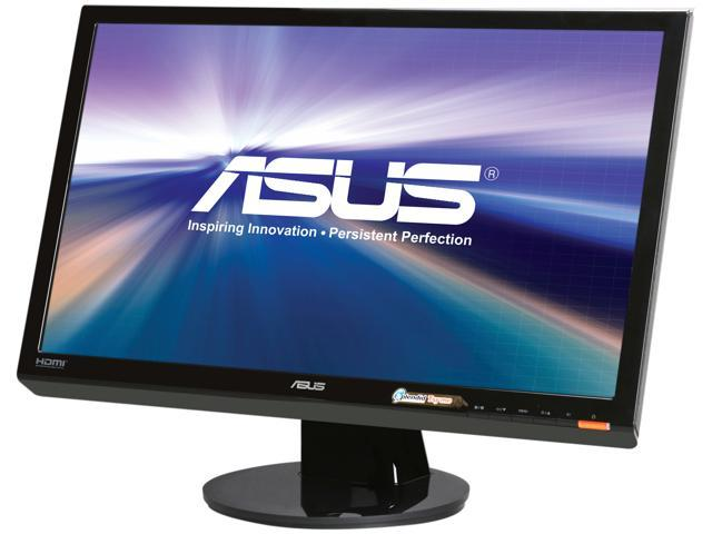 Asus VH238H Black 23 inch Full HD HDMI LED Backlight LCD Monitor w/Speakers 250 cd/m2 ASCR 50,000,000:1