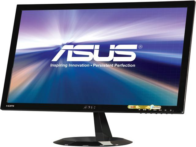 ASUS VX228H Black 21.5 inch 1ms (Gray to Gray) HDMI Widescreen LED Backlight Full HD 1080p Monitor 250 cd/m2 80,000,000:1 (ASCR) Built-in Speakers