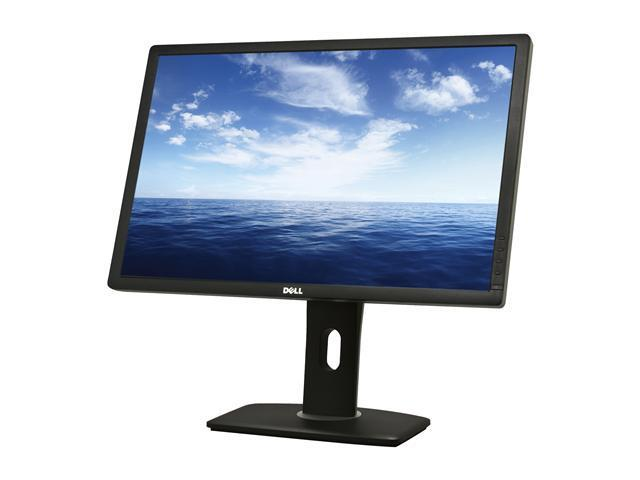 Dell UltraSharp U2412M Black IPS Panel 24 inch 8ms Pivot, Swivel & Height Adjustable LED Backlight Widescreen LCD Monitor 300 cd/m2 DC 2,000,000:1 (1000:1)