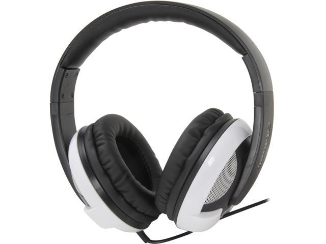 SYBA Oblanc U.F.O 200 Around-Ear 2.0 Stereo Headphone with In-line Mic