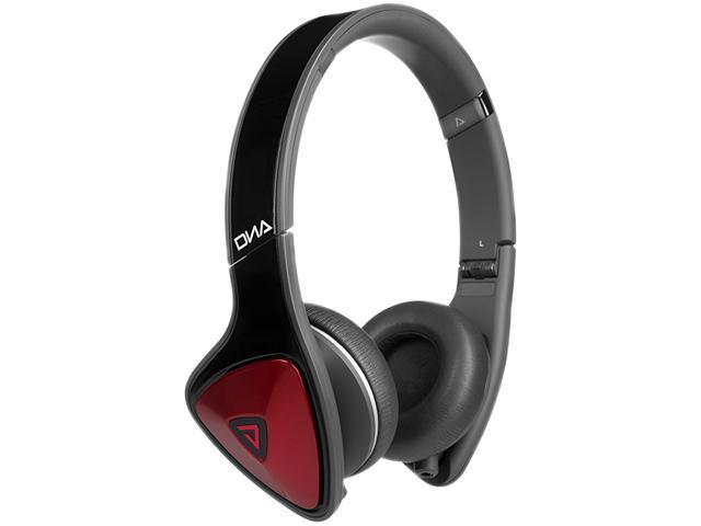 Monster DNA On-Ear Headphones - Black & Red