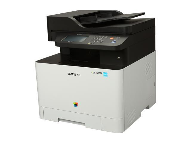 SAMSUNG CLX Series CLX-4195FW MFC / All-In-One Up to 19 ppm 9600 x 600 dpi Color Print Quality Color Wireless Laser Printer