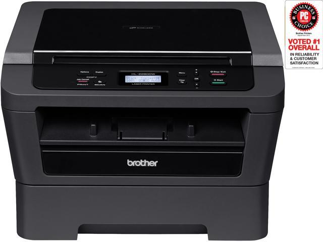 brother HL-2280DW MFC / 3-In-One Up to 27 ppm Monochrome Wireless Laser Printer