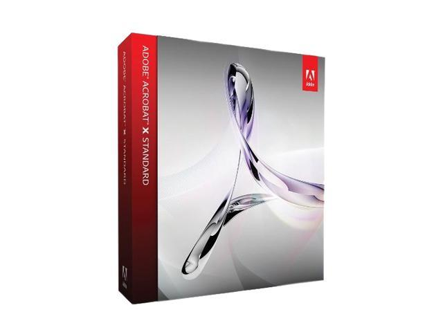 Adobe Acrobat X Standard for Windows