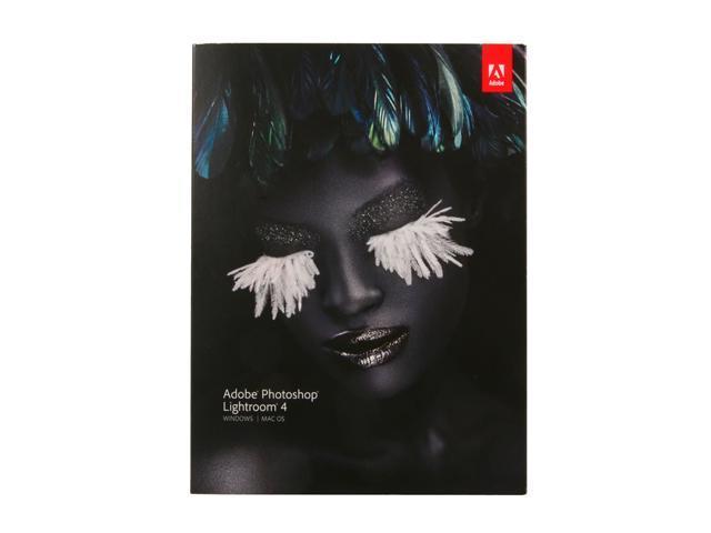 Adobe Photoshop Lightroom 4 for Windows & Mac - Full Version + SONY Movie Studio Platinum 12 - OEM