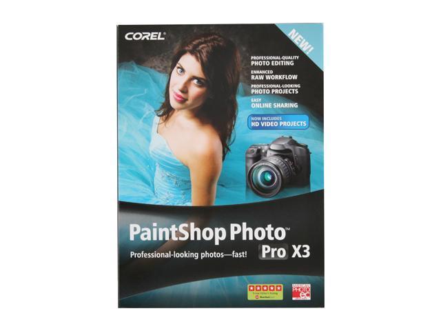 Corel Paintshop Photo Pro X3 - 1 User for System Builder - OEM