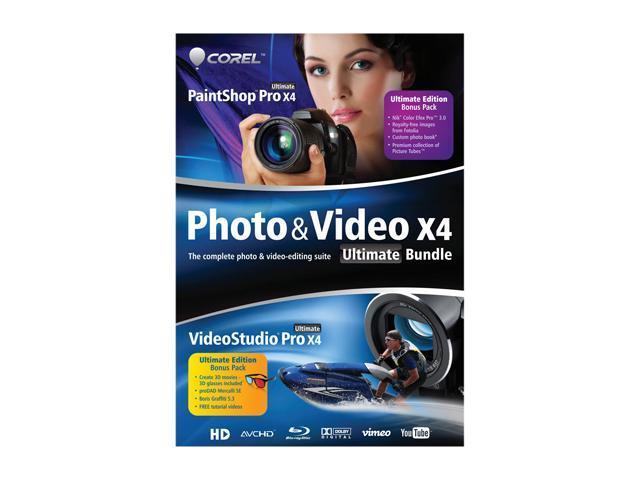 Corel Photo & Video Bundle X4