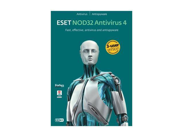 ESET Nod32 Antivirus 4.0 - 3 User