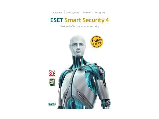 ESET Smart Security 4.0 - 3 User
