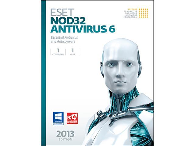 ESET Nod32 Antivirus 6 - 1 PC - OEM