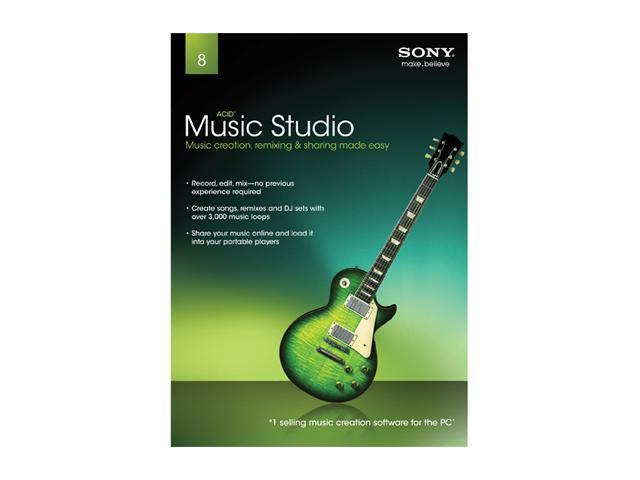 SONY Acid Music Studio 8.0 - System Builder - OEM + StarTech ICUSBAUDIOB 2 Channels USB Interface Black Audio Adapter