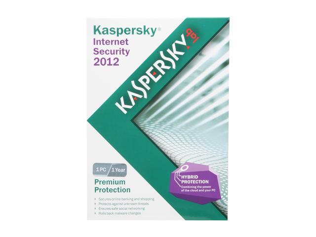 KASPERSKY lab Internet Security 2012 - 1 User