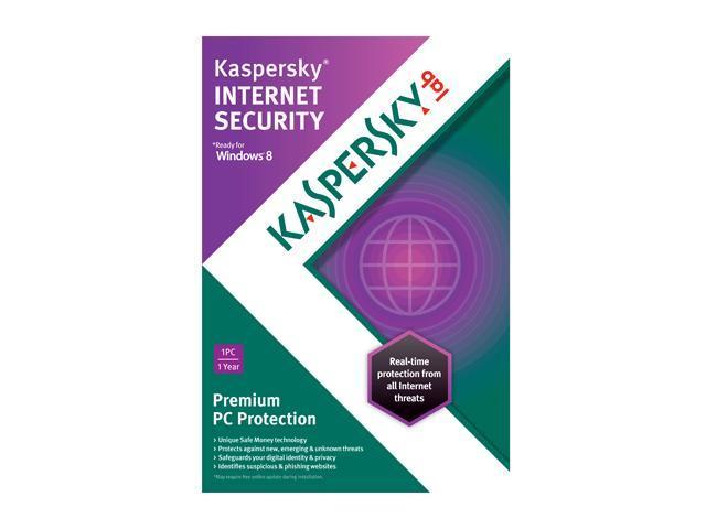KASPERSKY lab Internet Security 2013 - 1 PC - OEM