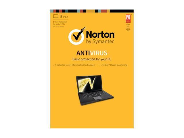 Symantec Norton Antivirus 2013 - 3 PCs