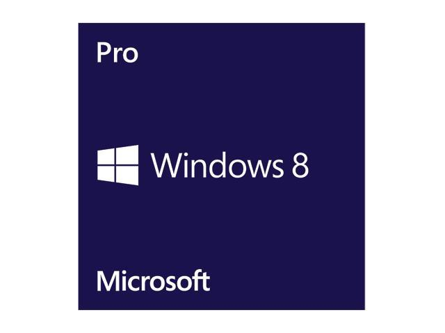Microsoft Windows 8 Professional 64-bit (Full Version)