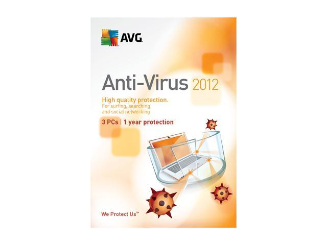 AVG Anti-Virus 2012 - 3 PCs