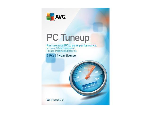 AVG PC TuneUp – 3 User