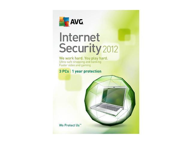 AVG Internet Security 2012 - 3 PCs