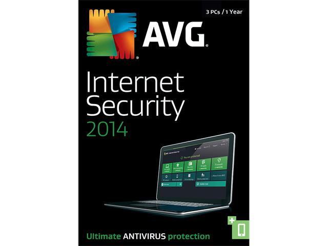 AVG Internet Security 2014 - 3 PCs