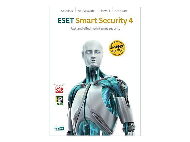 ESET Smart Security 4.0 - 3 User (French/English)