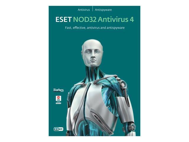 ESET Nod32 Antivirus 4.0 - 1 User (French/English)