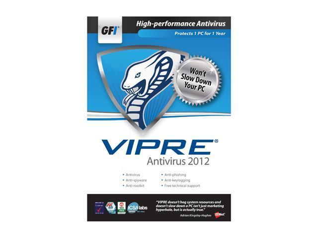 VIPRE Antivirus 2012 - 1 PC
